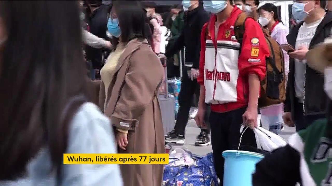 Coronavirus : Wuhan libéré après 77 jours de confinement