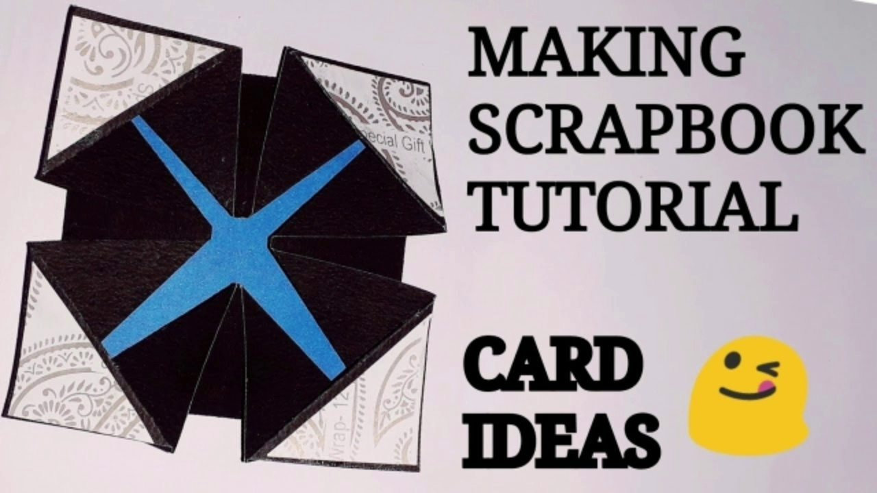 How to make scrapbook card idea/how to make scrapbook card tutorial/how to make scrapbook card /how to decorate scrapbook  how to make scrapbook pages
