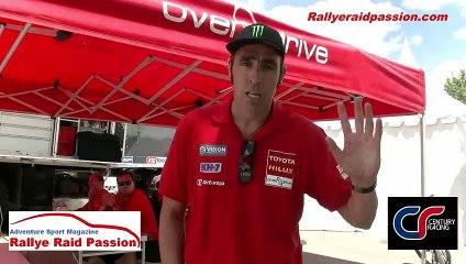 Nani Roma avec rallyeraidpassion.com