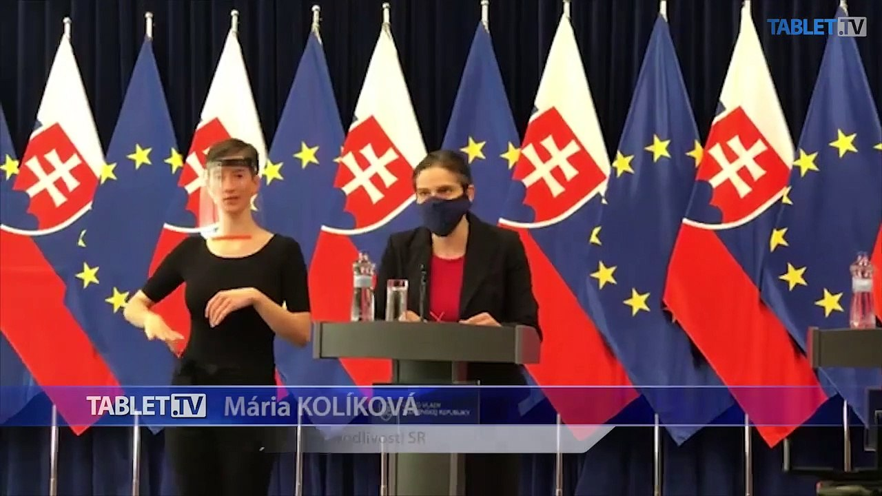 ZÁZNAM: Brífing ministerky spravodlivosti Márie Kolíkovej