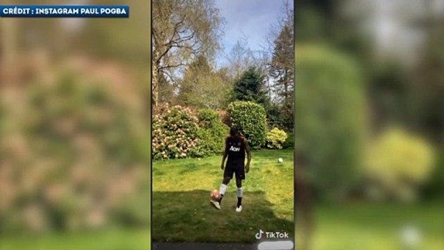 Paul Pogba lance un nouveau skill challenge à Zlatan Ibrahimovi?