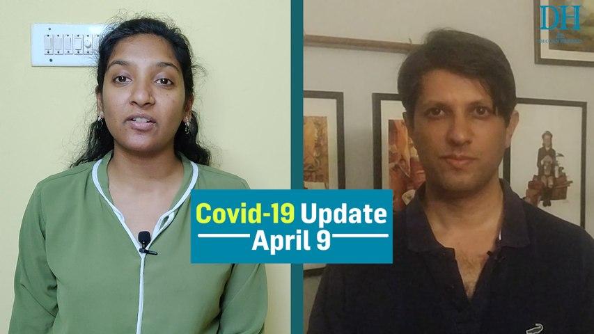 COVID-19 Bulletin: Karnataka, Kerala cops turn to drones to keep people indoors