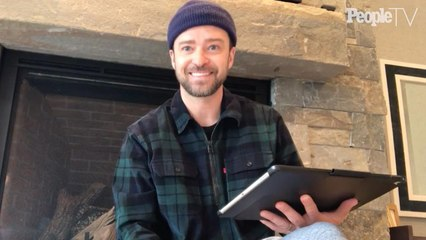 Justin Timberlake Answers Kids' Questions—and Reveals His Favorite Childhood Toy He Carried Everywhere