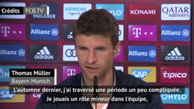 """Bayern - Müller : """"Je ne pensais pas prolonger mon contrat"""""""