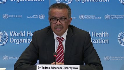 WHO gives an update on the global coronavirus outbreak