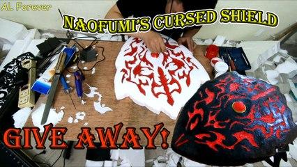 Make Naofumi's Cursed Shield DIY - The Rising of the Shield Hero