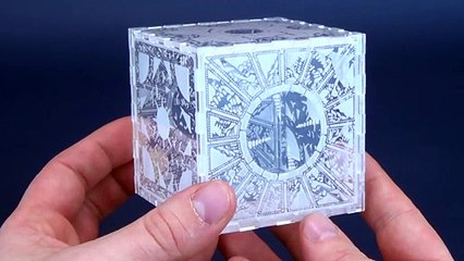 Dead Dave Designs Clear Hellraiser Puzzle Box Review