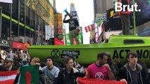 Extinction Rebellion Protests Shut Down Times Square