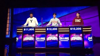Jeopardy College Championship 2020 The 3 Finalists Results