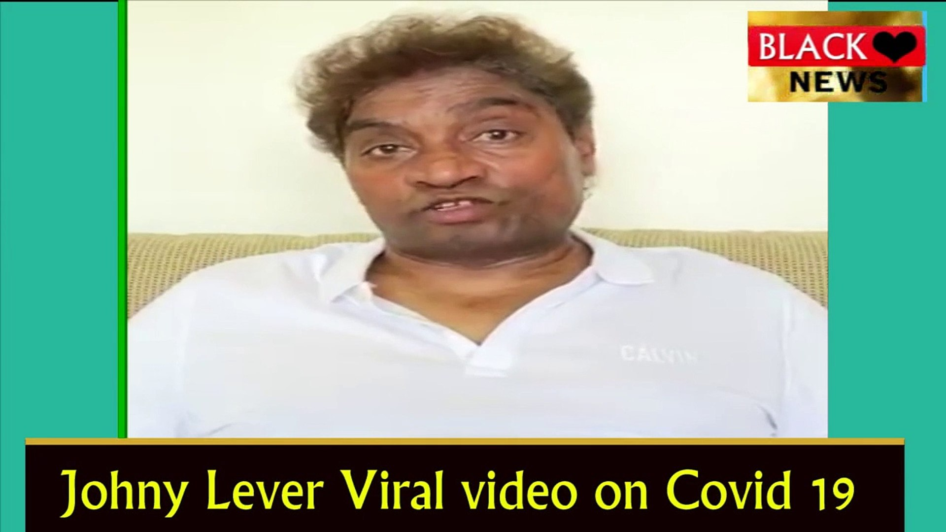 johnny lever Viral Video On Corona Virus