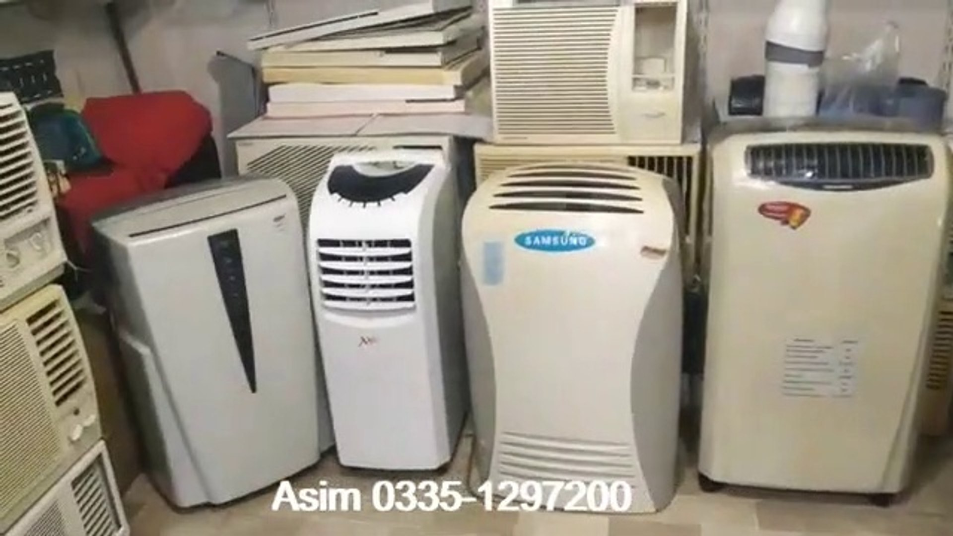 Jackson market karachi imported low price portable ac, mobile ac, ship ac, window ac, prices 2020
