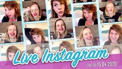 Live Instagram - #confinées