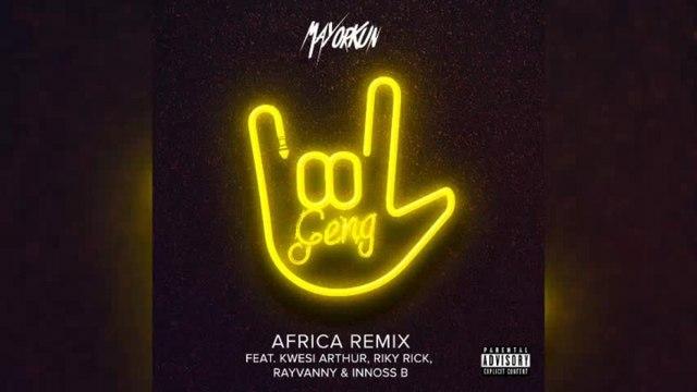 Mayorkun Ft. Innoss'B - Geng (Africa Remix) - Official audio