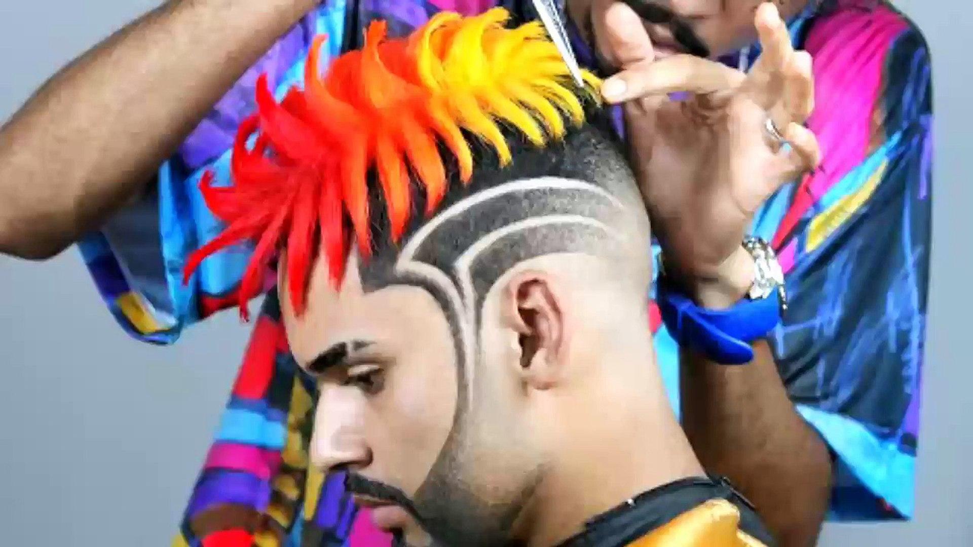 Amazing hair style  Hair transformation ✂️   free style। Awesome hair style। nice hair style। new ha