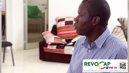 un membre du REVOCAP partage son vécu en tant que malade guéri et incite les Senegalais