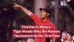 The Legend Of Tiger Woods