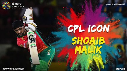 SHOAIB MALIK | #CPLIcon #CPL20 #CricketPlayedLouder