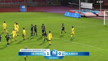 USCL 2-0 GFC Ajaccio J15 National FFF 19/20