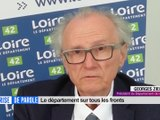 Prise de parole du 14 avril 2020 - Georges Ziegler, Président du Département de la Loire.