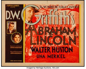 D. W. Griffith's Abraham Lincoln.(1930) HD Spn Sub