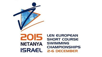 Netanya (ISR) 2015 European Short Course Swimming Championships - 1500 freestyle Men ( Gregorio Paltrinieri (ITA) World Record )