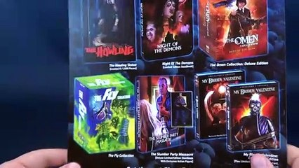 Scream Factory Night of the Demons Unboxing