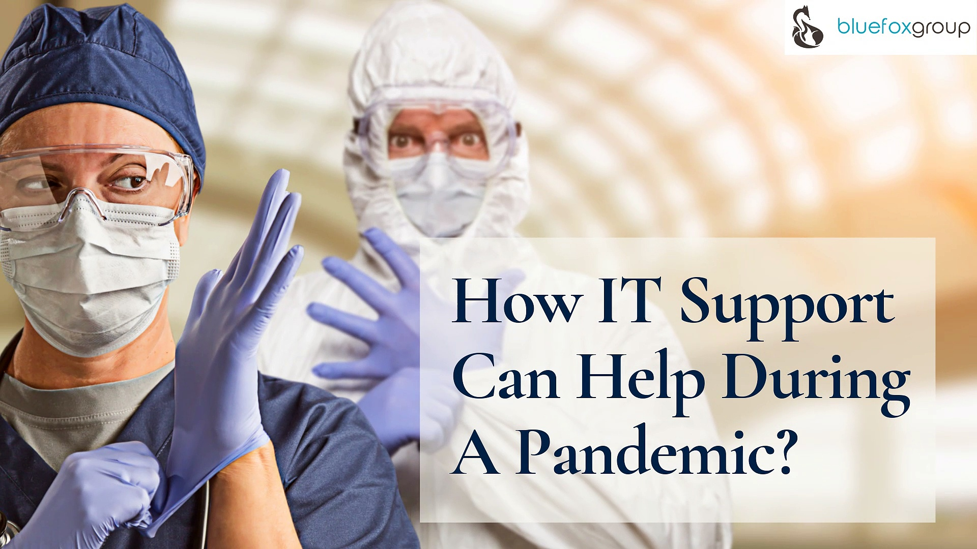 How IT Support Can Help During A Pandemic