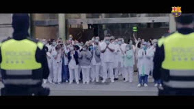 Barça - Joueurs et supporters unis contre le coronavirus