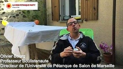 La Mini Pétanque Party  La Pétanque sur Table déboule chez vous