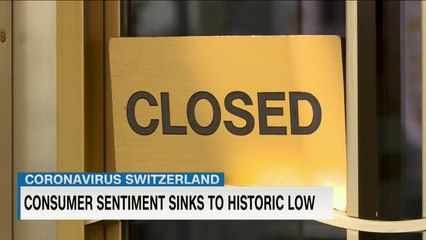 """Coronavirus latest: Swiss public expects a """"severe recession"""" 