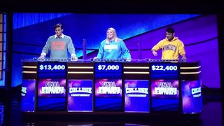 Jeopardy College Championship 2020 Semifinals 2 April 14 20