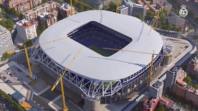 La Liga - Le Real Madrid dévoile une vidéo du futur Bernabéu