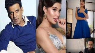 Jacqueline Fernandez threatens Manoj Bajpayee, 'Keh Ke loongi'; announces Netflix film MRS serial killer's premiere.