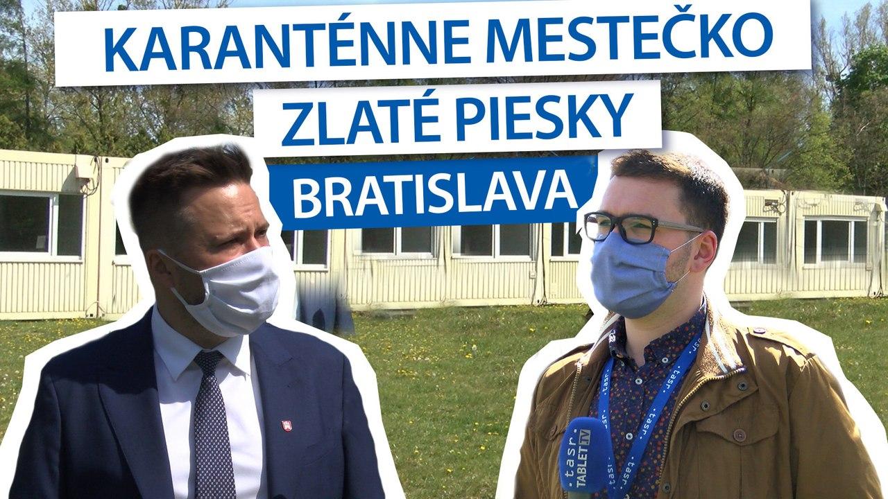 VALLO: Boj s koronavírusom pokračuje, Bratislava otvorila karanténne mestečko pre ľudí bez domova