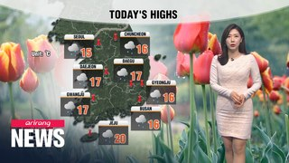 [Weather] Cooler and wetter Friday
