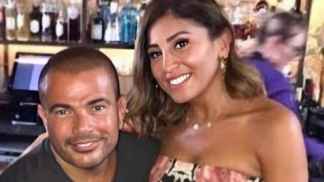 عمرو دياب يحمس الجمهور بجزء من تتر مسلسل لعبة النسيان لدينا الشربيني