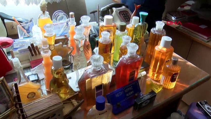 50 yılda biriktirdiği 3 bin şişe kolonyayı dağıtıyor