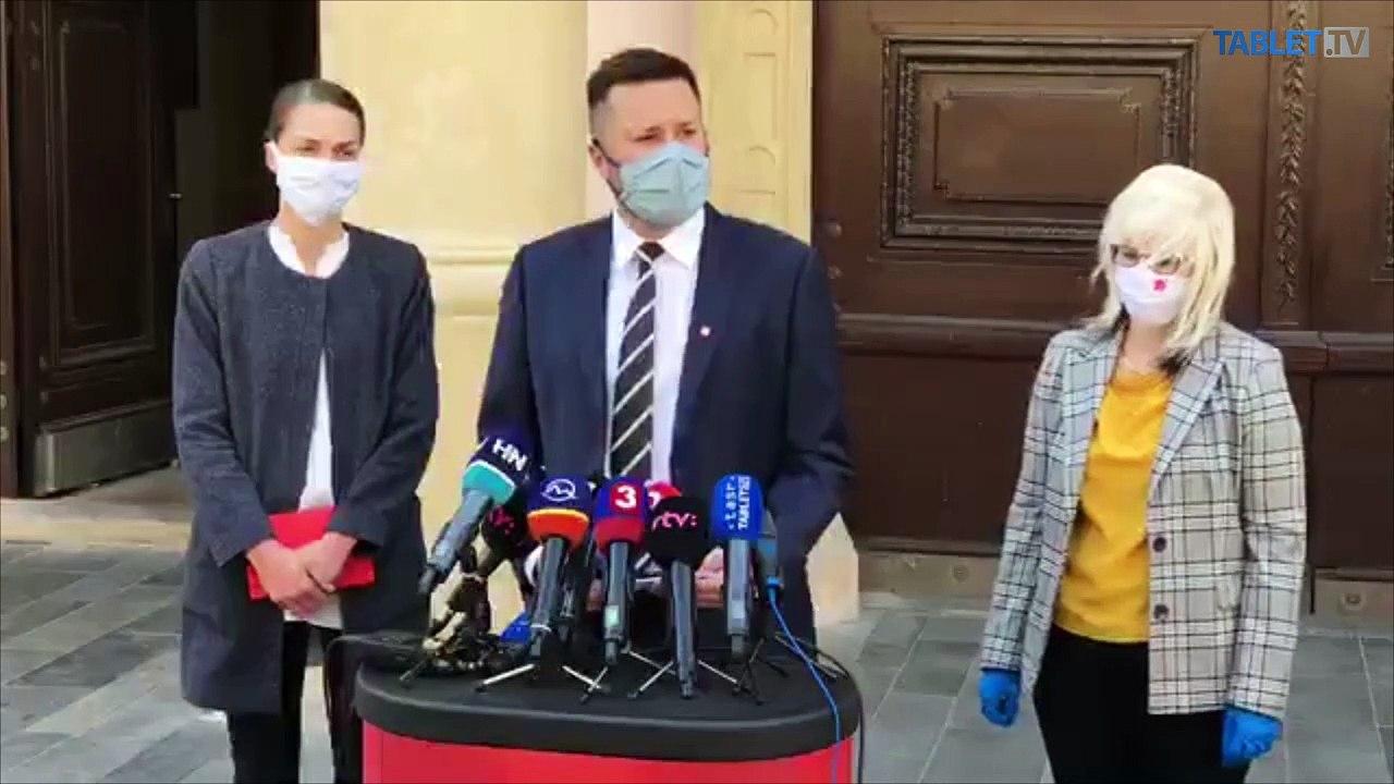 ZÁZNAM: TK primátora hlavného mesta SR Bratislavy Matúša Valla
