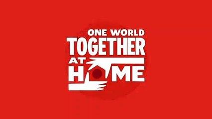 #TogetherAtHome — Evento especial. en vivo  a las  2PM (EST) del 18 de Abril. PROMO