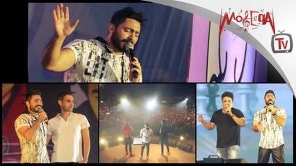تامر حسني يحتفل بمرور 15 سنة من مشواره الفني مع جمهوره وفريق عمله