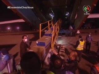 Algérie : Arrivée d'une nouvelle commande de matériel médical en provenance de Chine
