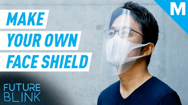 Here's how to make your own face shield — Future Blink