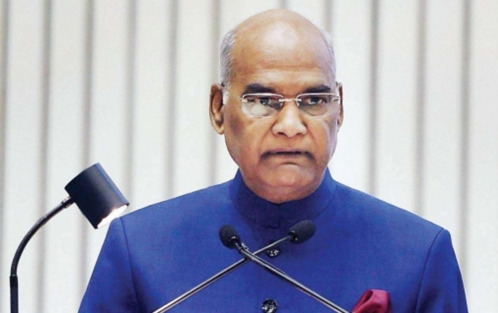 President Ram Nath Kovind pays last tribute to Sushma Swaraj