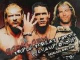 John Cena vs Triple H vs Edge story before Backlash 2006