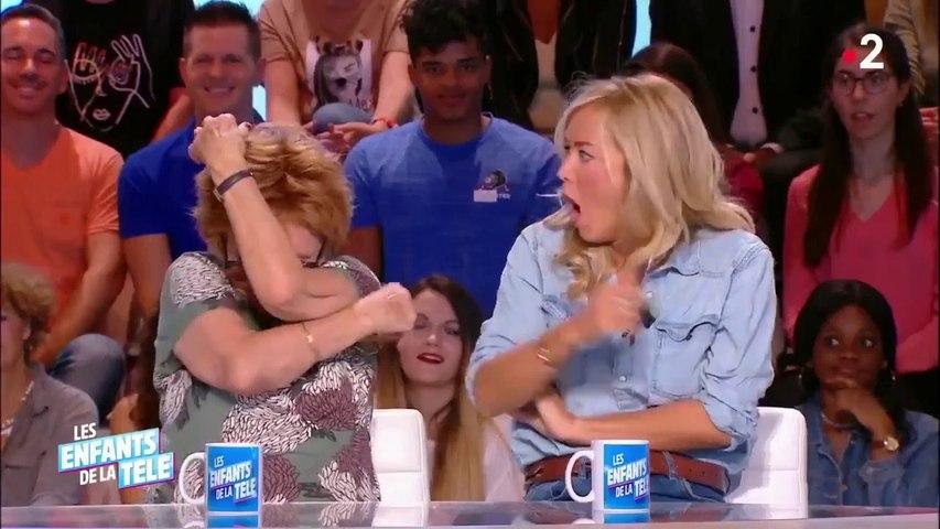 Les invités des Enfants de la Télé découvrent que Marion Game était la voix de Lois