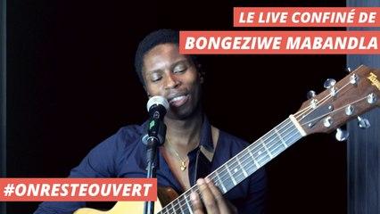 Le live confiné de Bongeziwe Mabandla I On Reste Ouvert