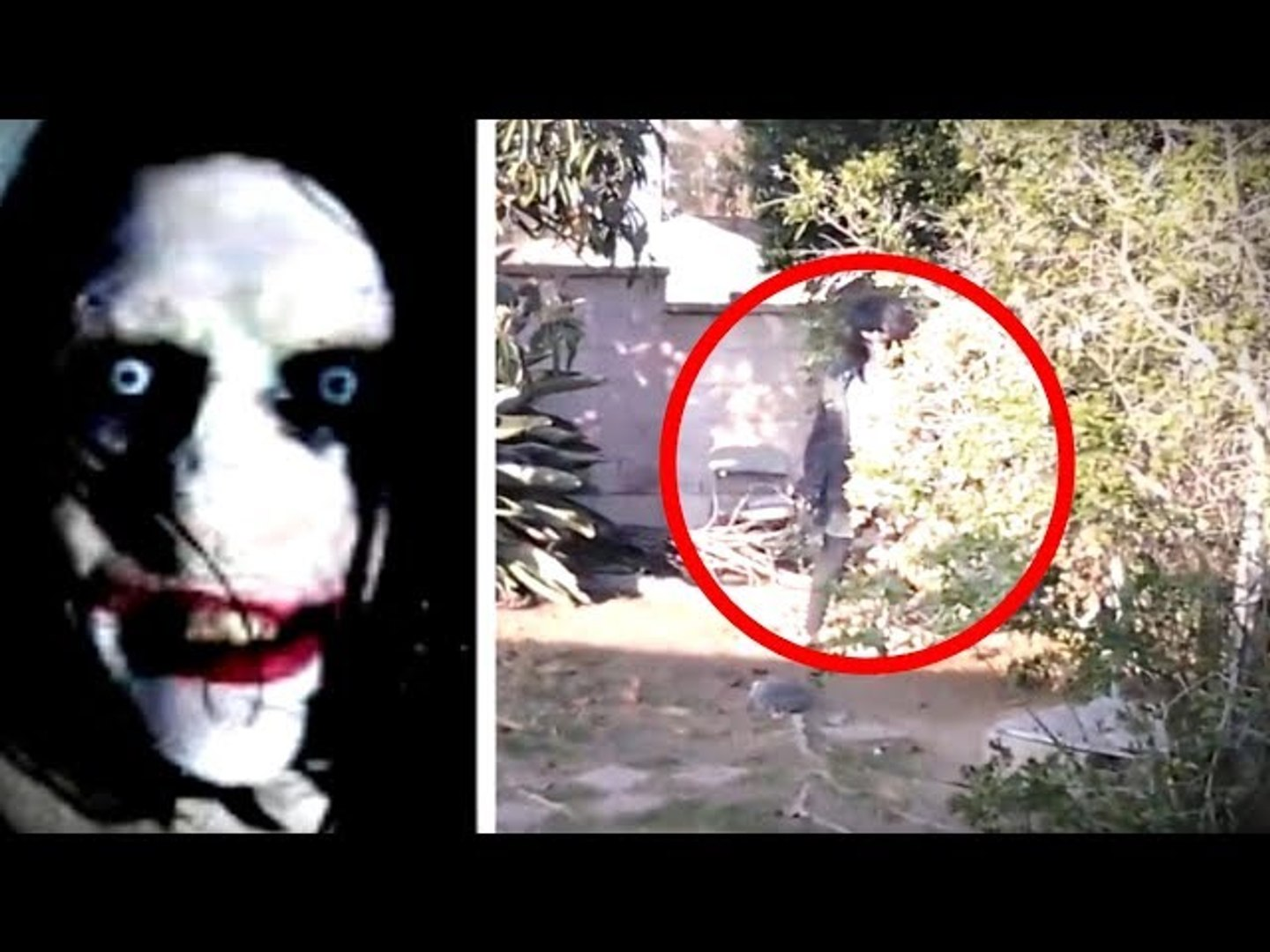 5 Real Life Creepypasta Characters Caught On Camera Video