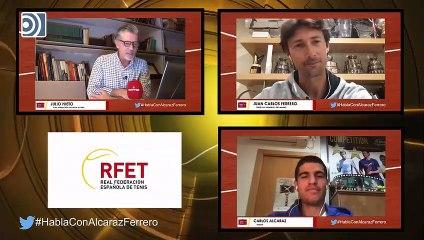 Libertad Digital pregunta a Juan Carlos Ferrero por la evolución del tenis español
