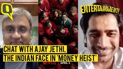 Chat with Ajay Jethi, the Indian Face of 'Money Heist'