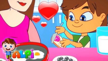 KAHVALTI ŞARKISI - Okul Öncesi ve Anaokulu Bebek ve Çocuk Şarkıları
